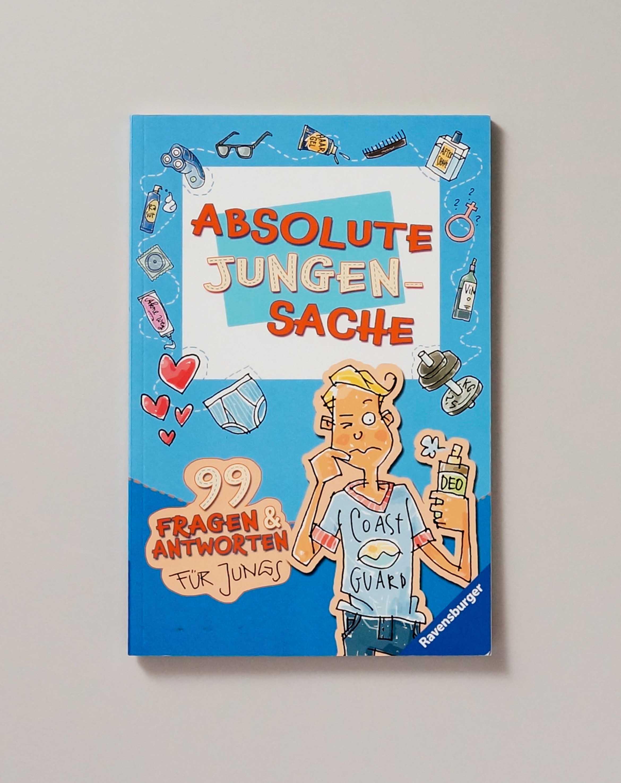 Absolute Jungensache 99 Fragen & Antworten für Jungs Ravensburger Cover