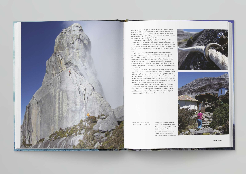 Bruckmann Passion Klettern Übersetzung, Lektorat und Satz der deutschen Ausgabe