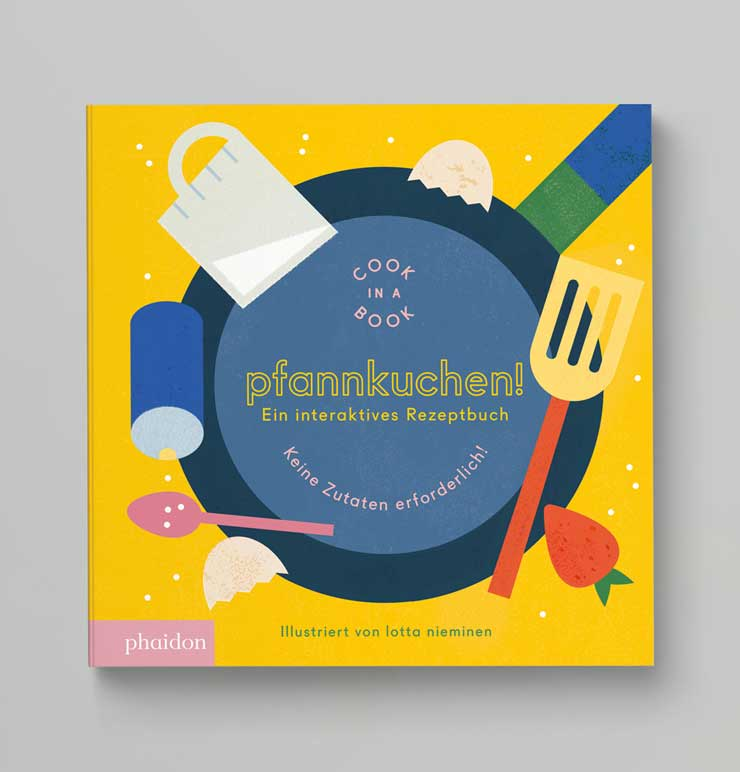 Cook in a book Pfannkuchen! Ein interaktives Rezeptbuch
