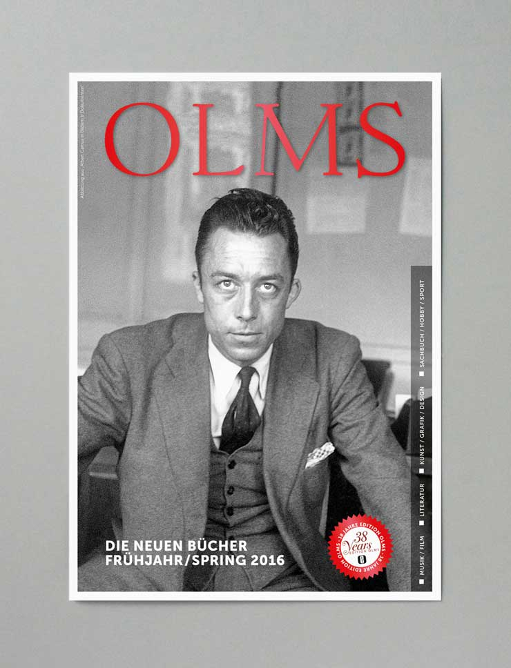 Editon Olms <br>Olms Presse <br>Verlagsvorschau