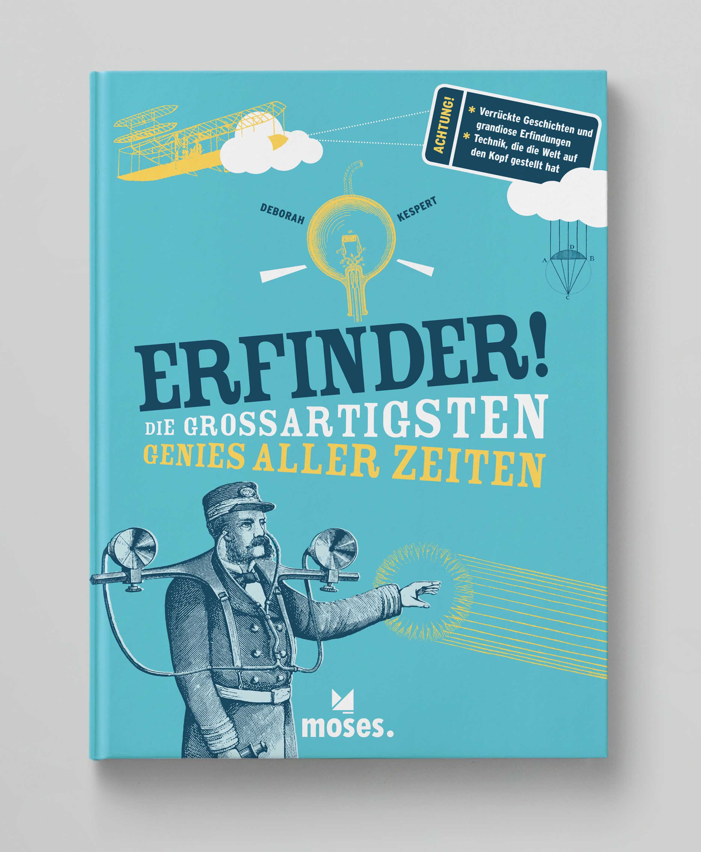 Erfinder moses Cover