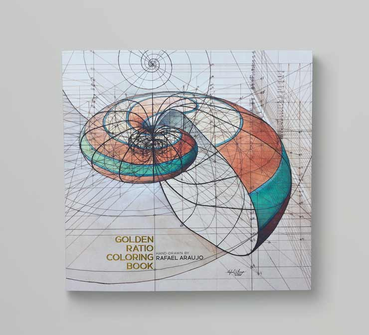 Golden Ratio Colouring Book