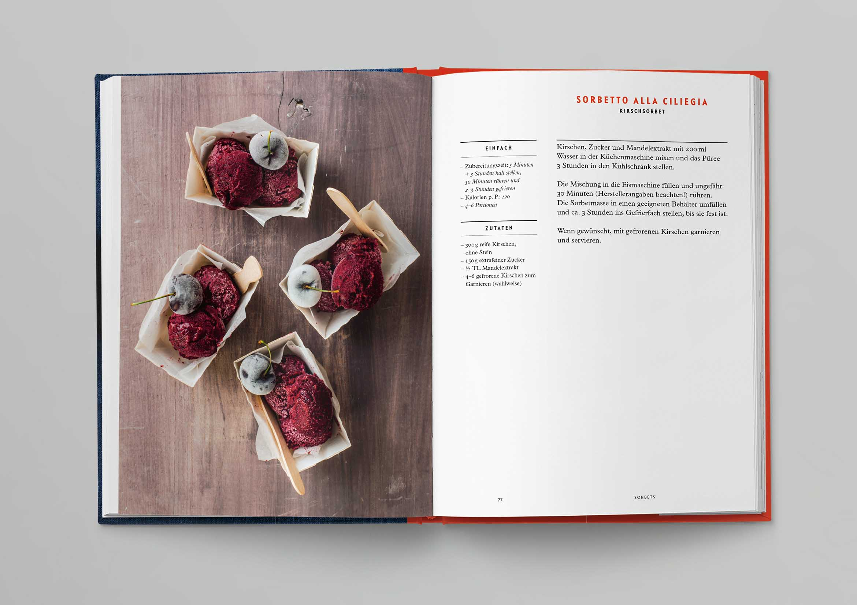 Italienische Kochschule Eiscreme Die Silberlöffel Küche Phaidon Innenseiten-04