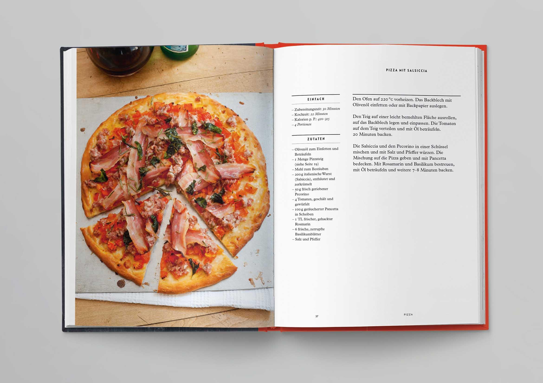 Italienische Kochschule Pizza Die Silberlöffel Küche Phaidon Innenseiten-01