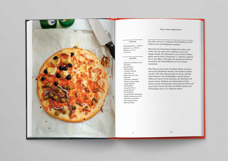 Italienische Kochschule Pizza Die Silberlöffel Küche Phaidon Innenseiten-02