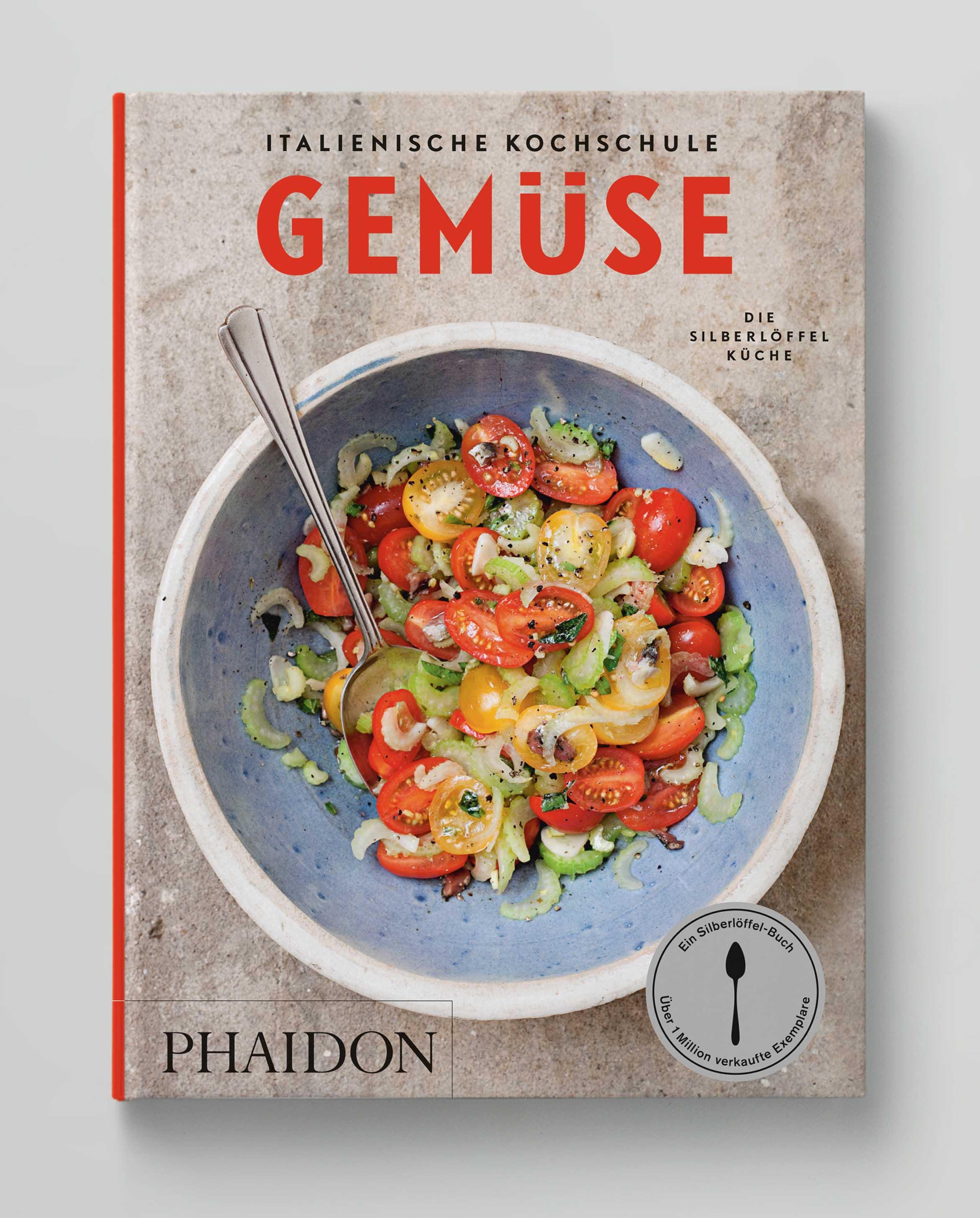 Italienische Kochschule Gemüse Die Silberlöffel Küche Phaidon Cover