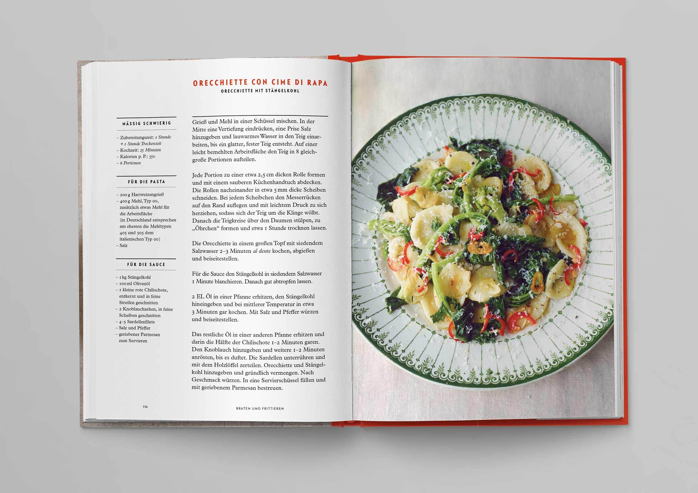 Italienische Kochschule Gemüse Die Silberlöffel Küche Phaidon Innenseiten-02