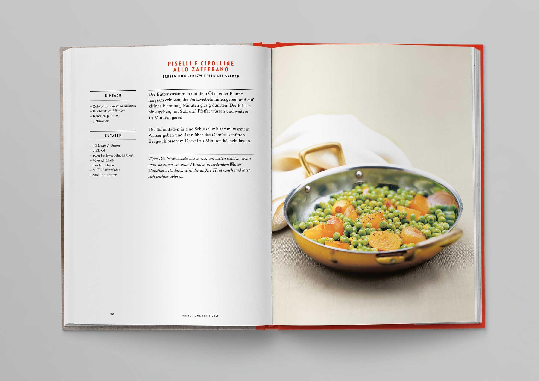 Italienische Kochschule Gemüse Die Silberlöffel Küche Phaidon Innenseiten-03
