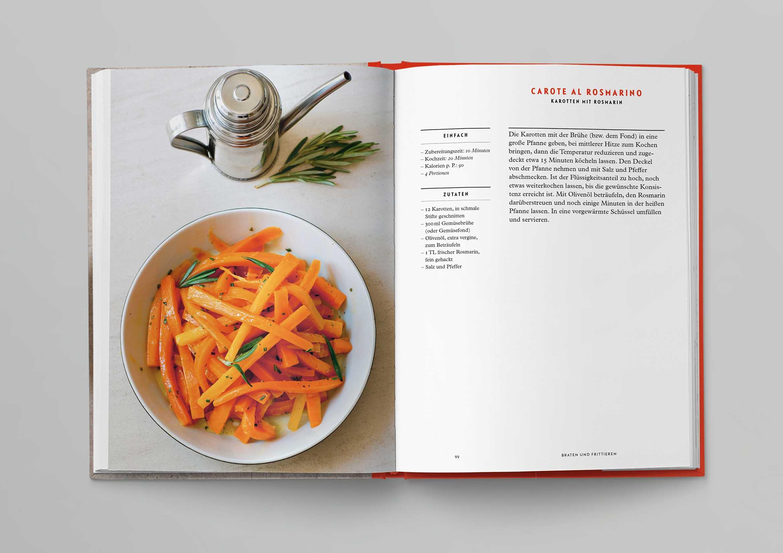 Italienische Kochschule Gemüse Die Silberlöffel Küche Phaidon Innenseiten-04