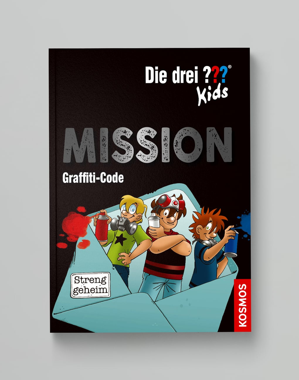 Die drei ??? Kids<br>Mission Griffiti-Code