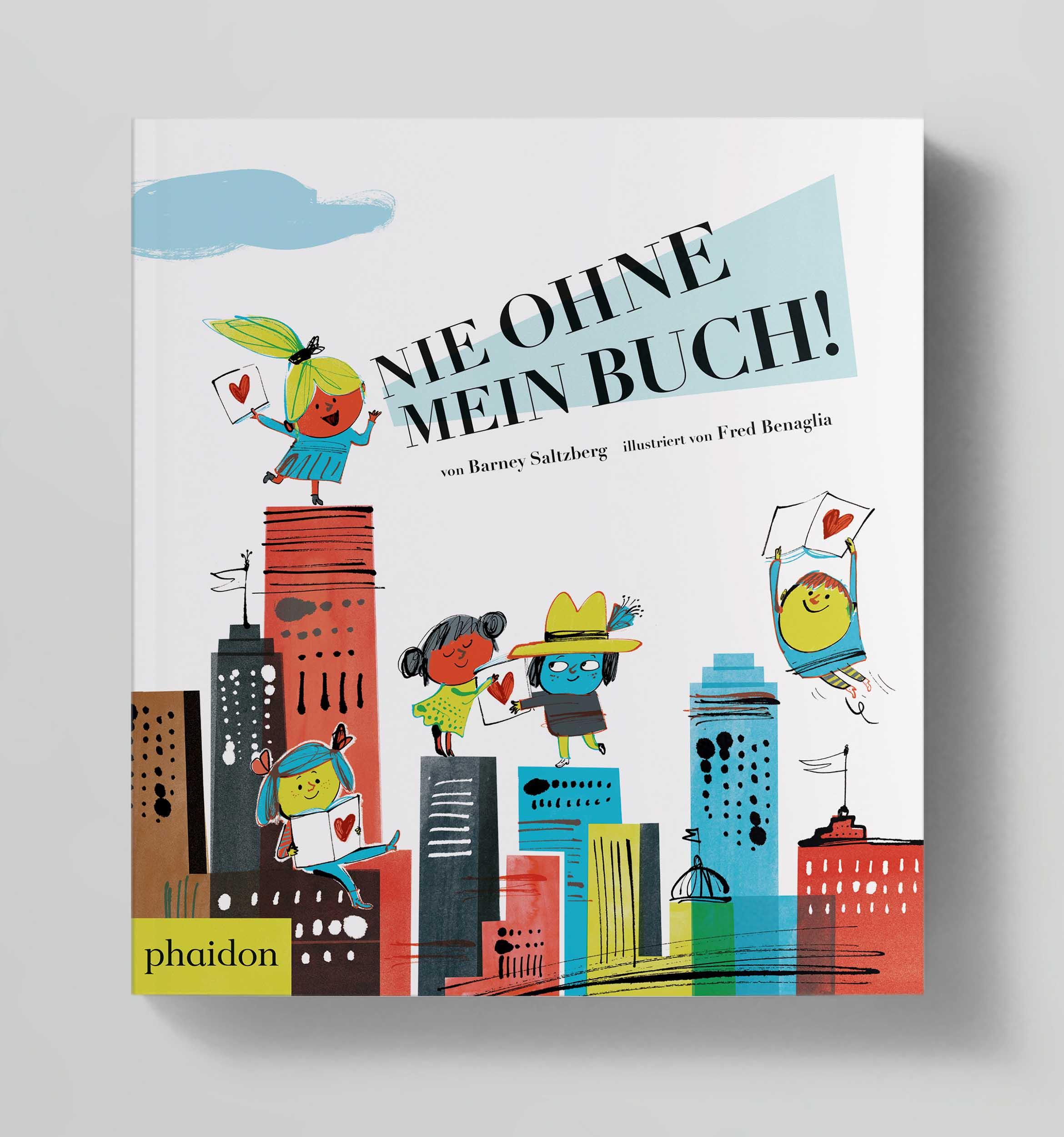 Nie ohne mein Buch Phaidon Cover