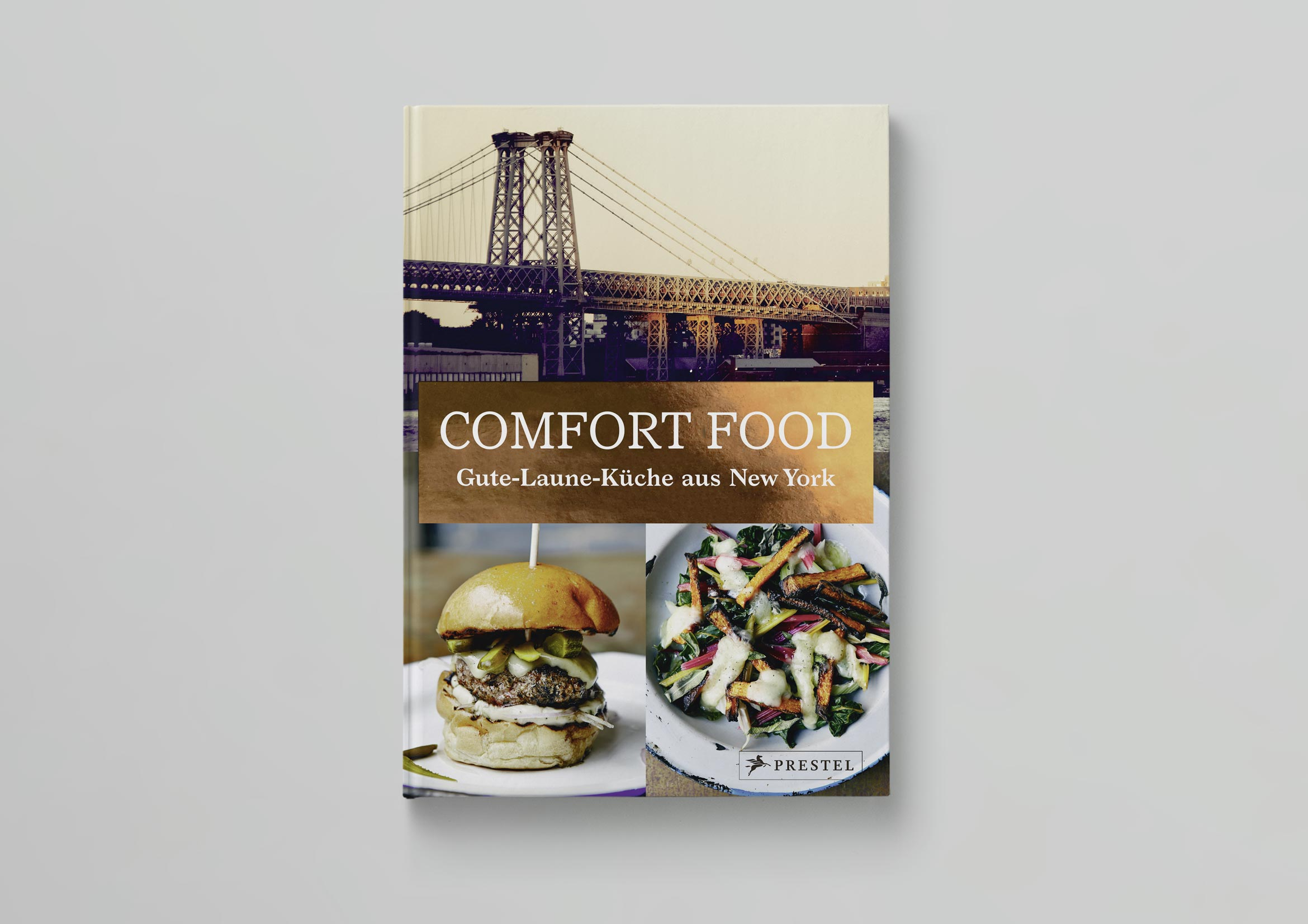 Prestel Comfort Food Mock Up